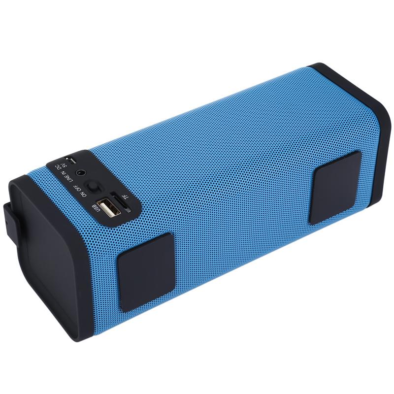 Портативна HiFi аудио система S311, супер бас, MP3, bluetooth, SD memory, FM