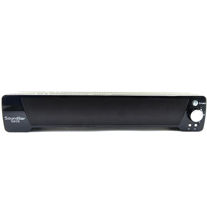 Супер слим HiFi аудио сустема SoundBar S205, FM, MP3,  25W и за телевизора