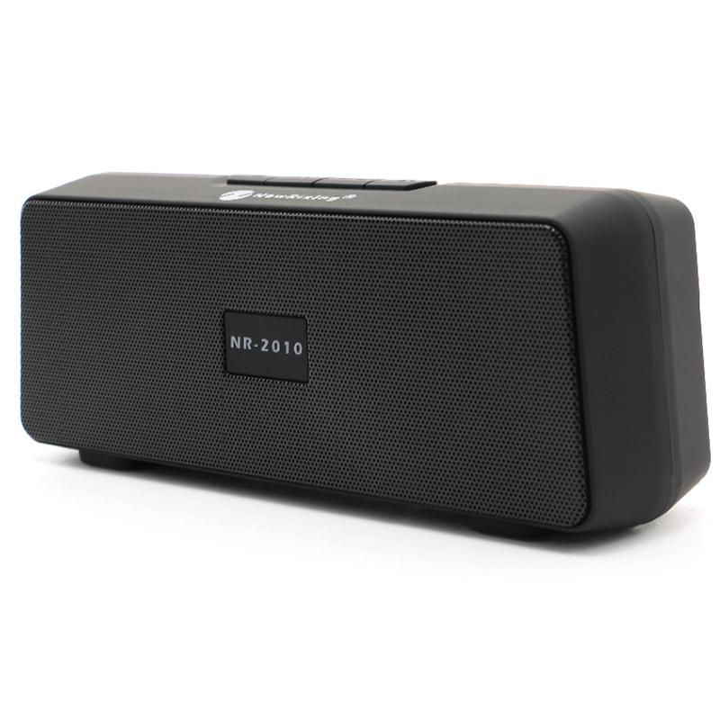 Портативна безжична тонколонка NewRixing NR-2010, Bluetooth, MicroSD, Radio