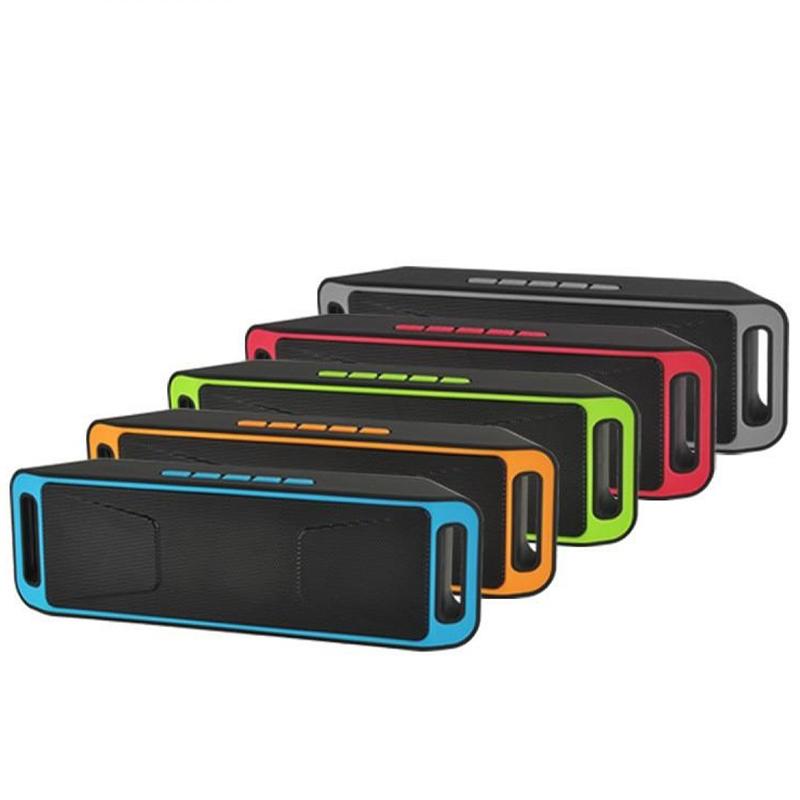 Портативна Bluetooth колонка MEGABASS 208 Блутут, SD card 12W HiFi