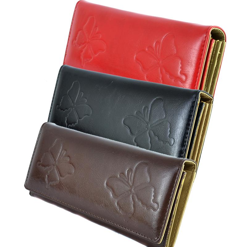 Дамски портфейл BUTTERFLY 0401, еко кожа, 4 цвята