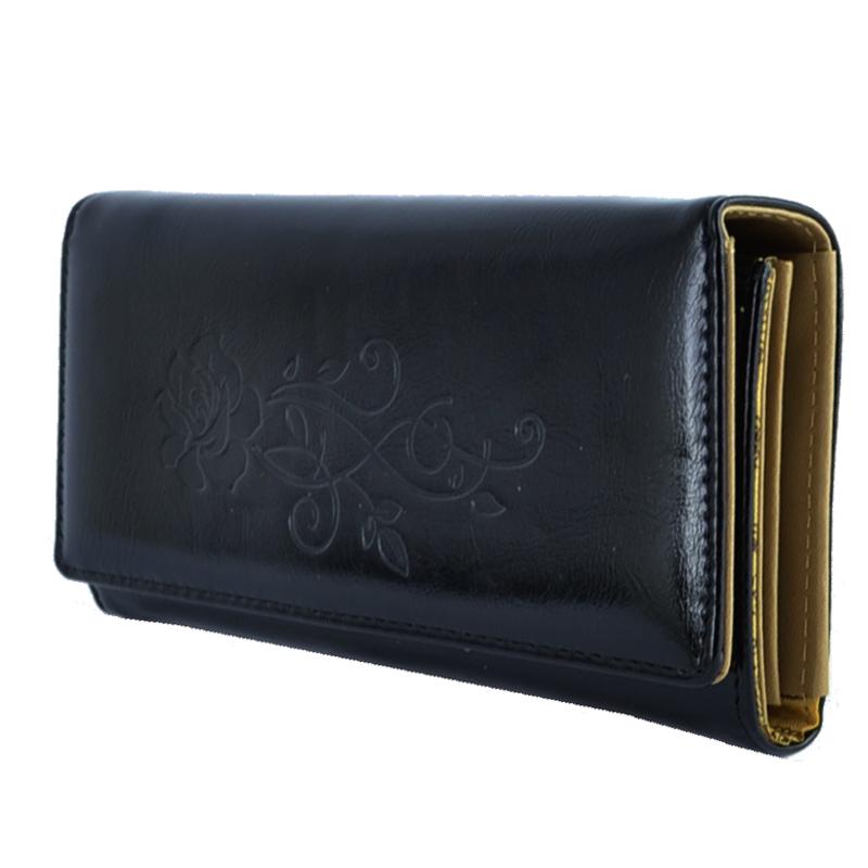 Дамски портфейл ROSE 0404 CLASSIC, еко кожа, три цвята