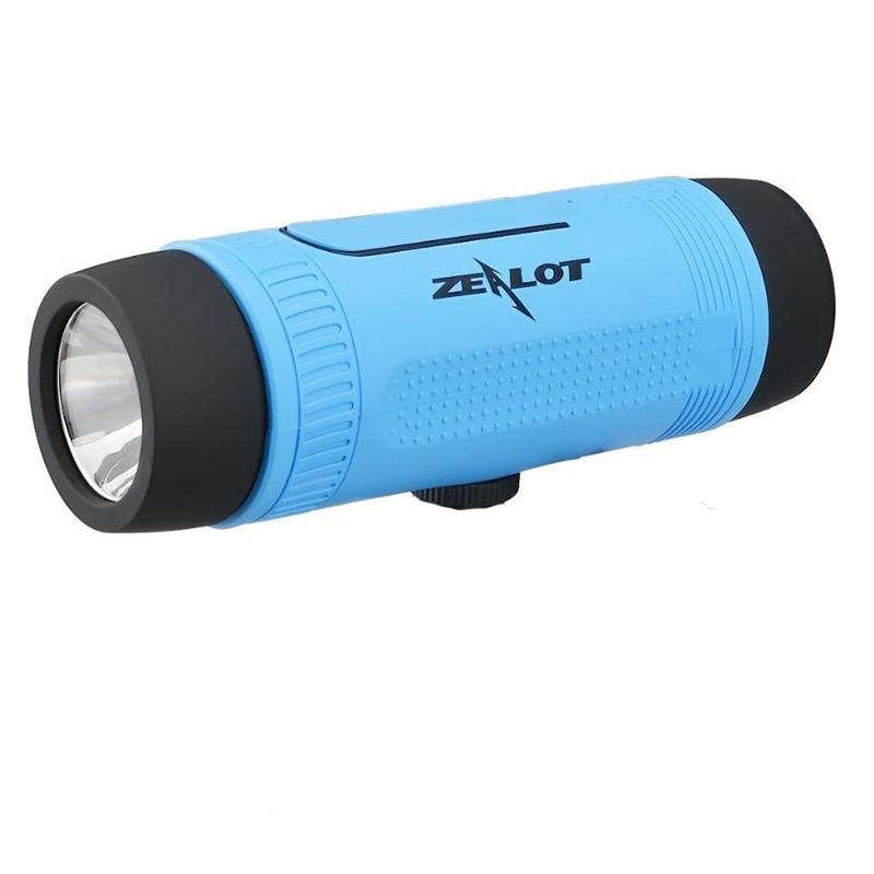 Уникална Bluetooth колонка ZEALOT S1