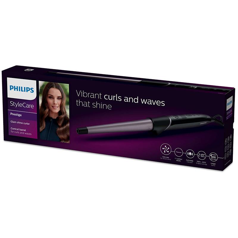 Маша Philips BHB872/00, Индикатор Curl Ready, 9 цифрови настройки на температурата
