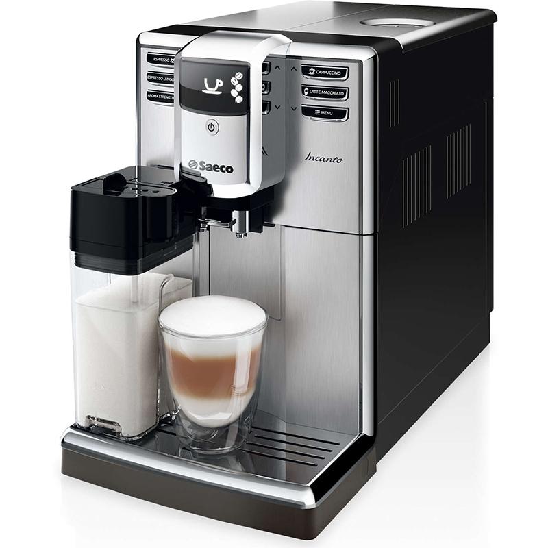 Кафемашина SAECO HD8917/09, Мощност 1850 W, Налягане 15 bar.,Керамична кафемелачка