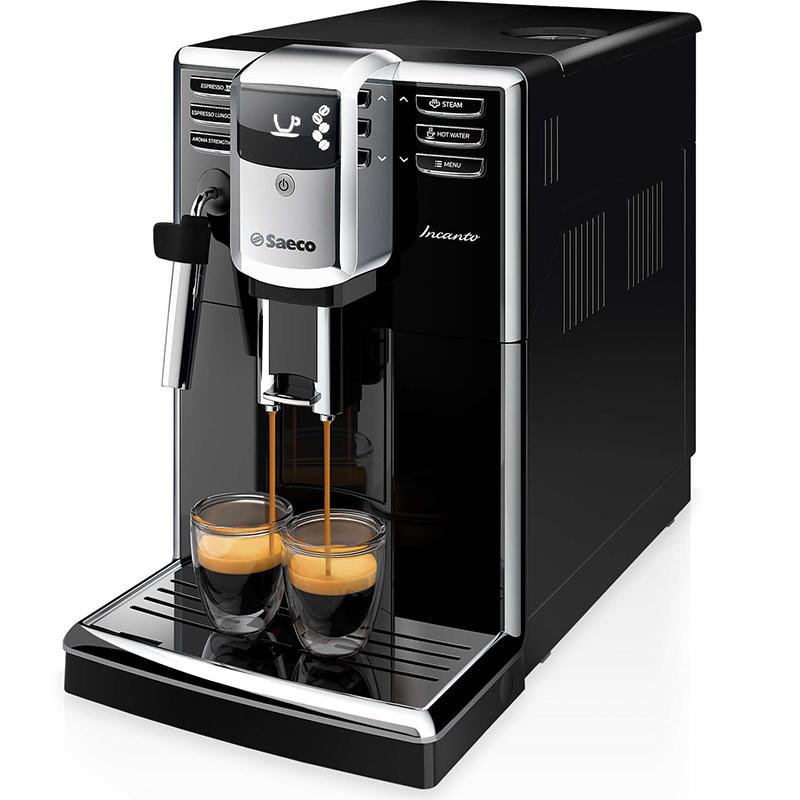 Кафемашина SAECO HD8911/09, Мощност 1850 W, Налягане 15 bar.,Керамична кафемелачка
