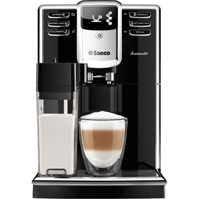 Кафемашина SAECO HD8916/09, Мощност 1850 W, Налягане 15 bar., Керамична кафемелачка