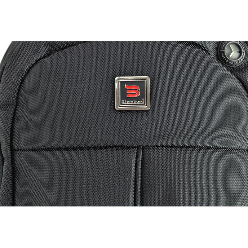 Раница 1198 BLACK за Лаптоп 15 инча  с аудио порт , бизнес раница