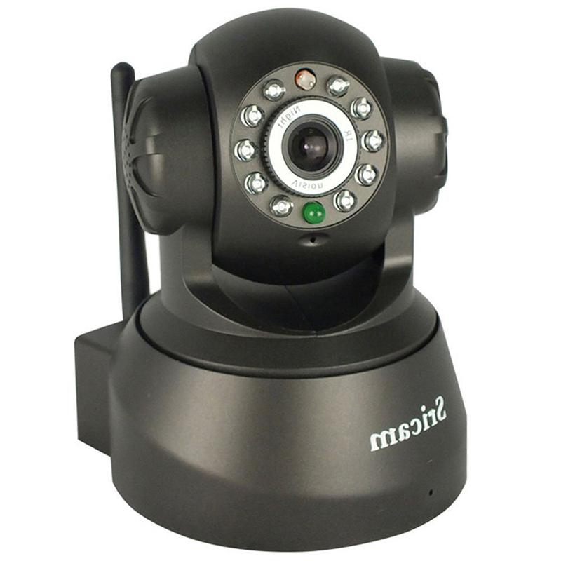 Безжична IP охранителна камера Sricam AP001, Датчик за движение и нощно виждане