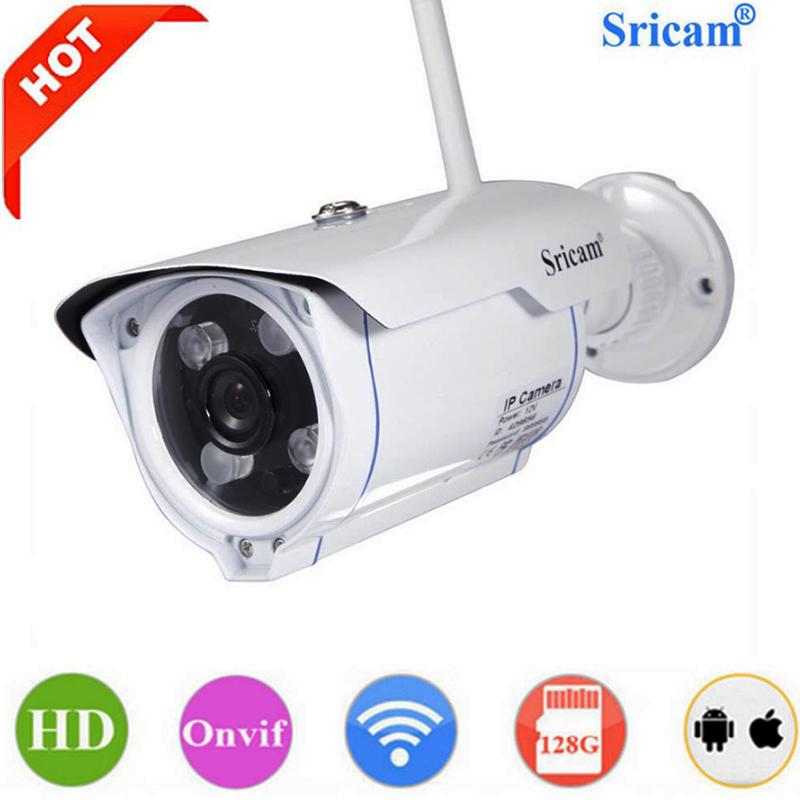 Безжични WIFI ip camera HD IP камерa Sricam SP007