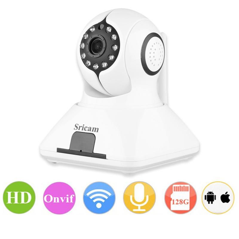 Безжична WiFi, IP камера за наблюдение SRICAM SP006