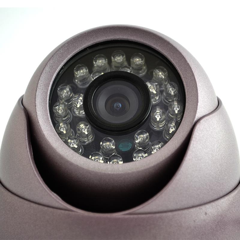 Куполна охранителна камера с метален корпус JEWES - 7359RQM