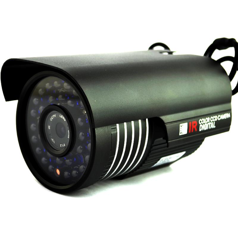 Видео камера за наблюдение ZS-3327, метален корпус, 36 светодиода за нощно виждане