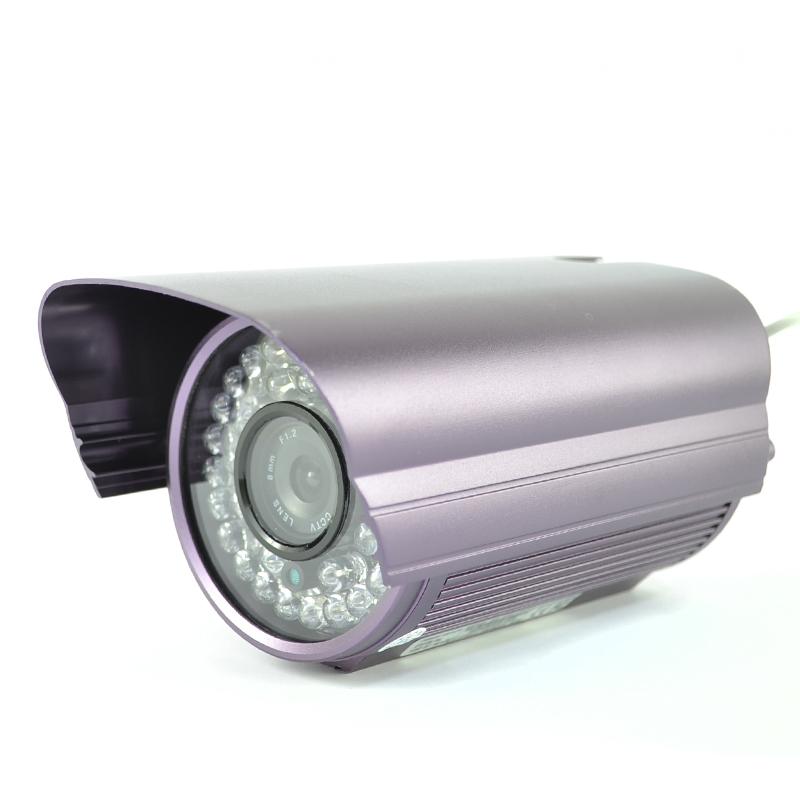 Видео камера за наблюдение CVC-3036B, алуминиев корпус, 35 диода за нощно наблюдение