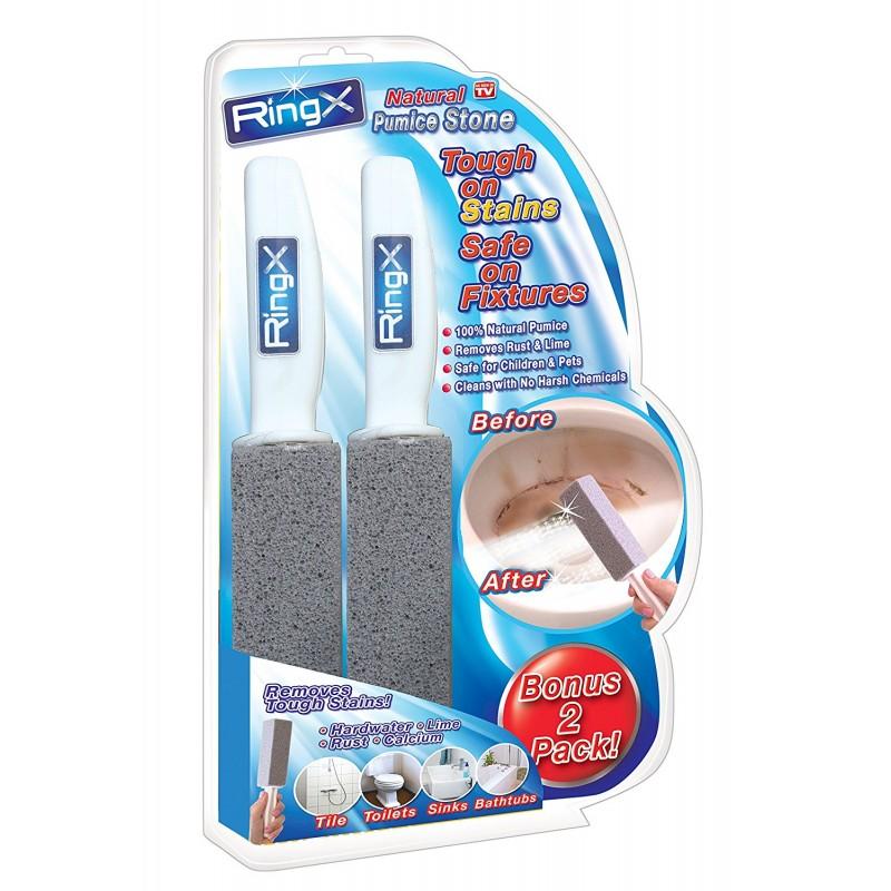 Разпродажба: четка за почистване на тоалетна чиния RingX 2 броя