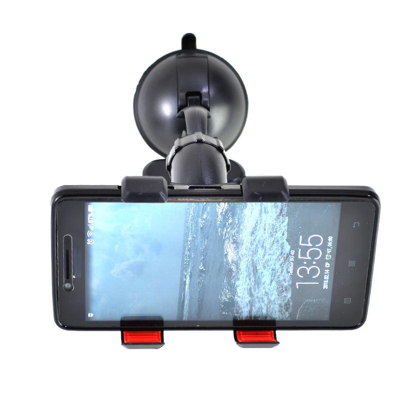 Универсална автостойка с двойна щипка за телефон или  навигация 224/S-2234W