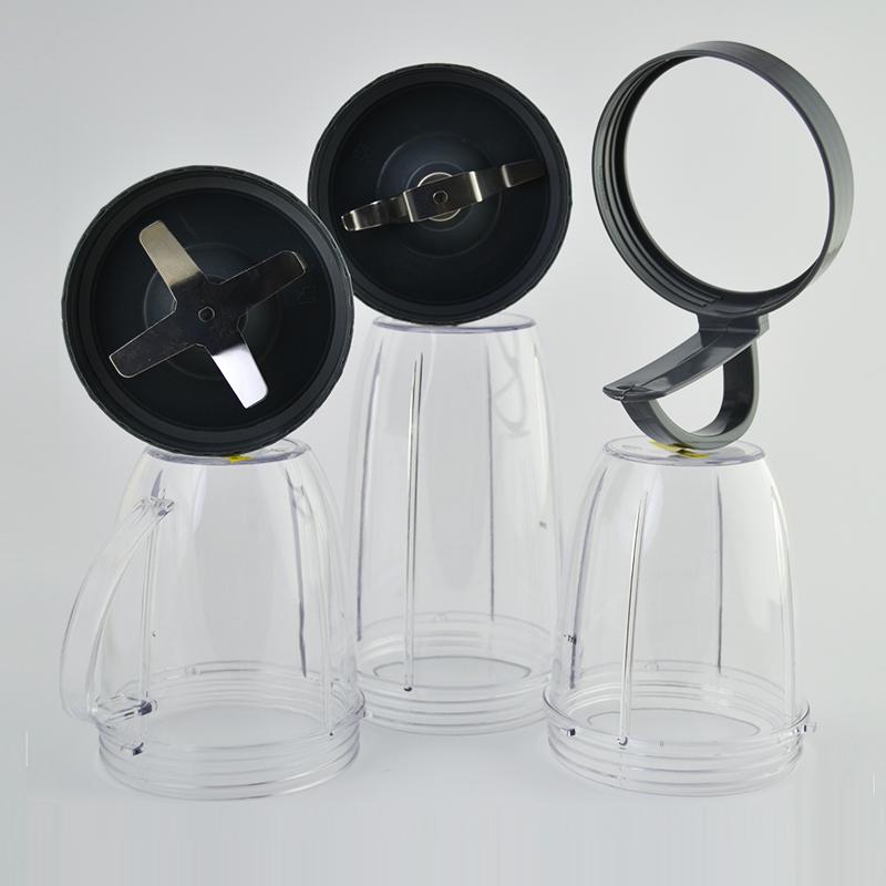РАЗПРОДАЖБА: NUTRI BLENDER 600W CLASSIC - пълен комплект- 12 части, ДО 100 БРОЯ