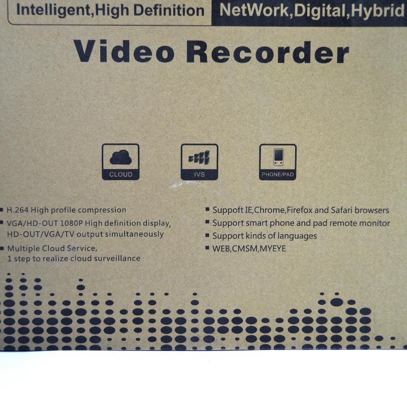 NVR HD Видео рекордер с H.264 компресия