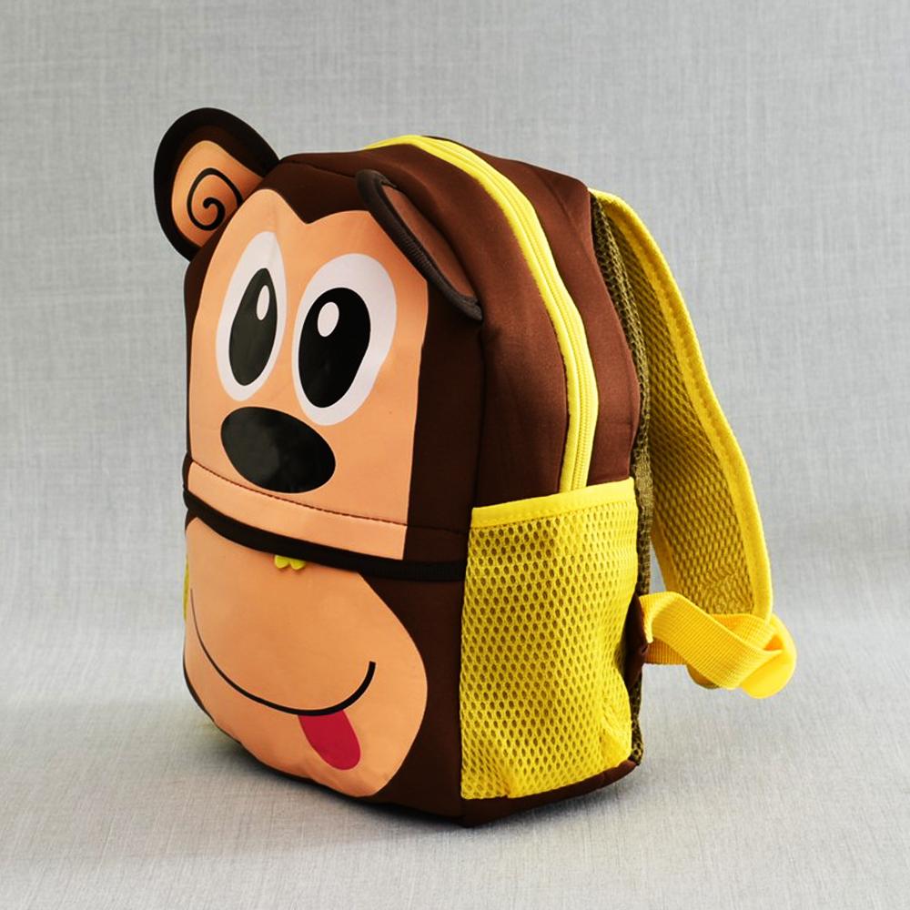 Детска раница Маймунка  BROWN 21181