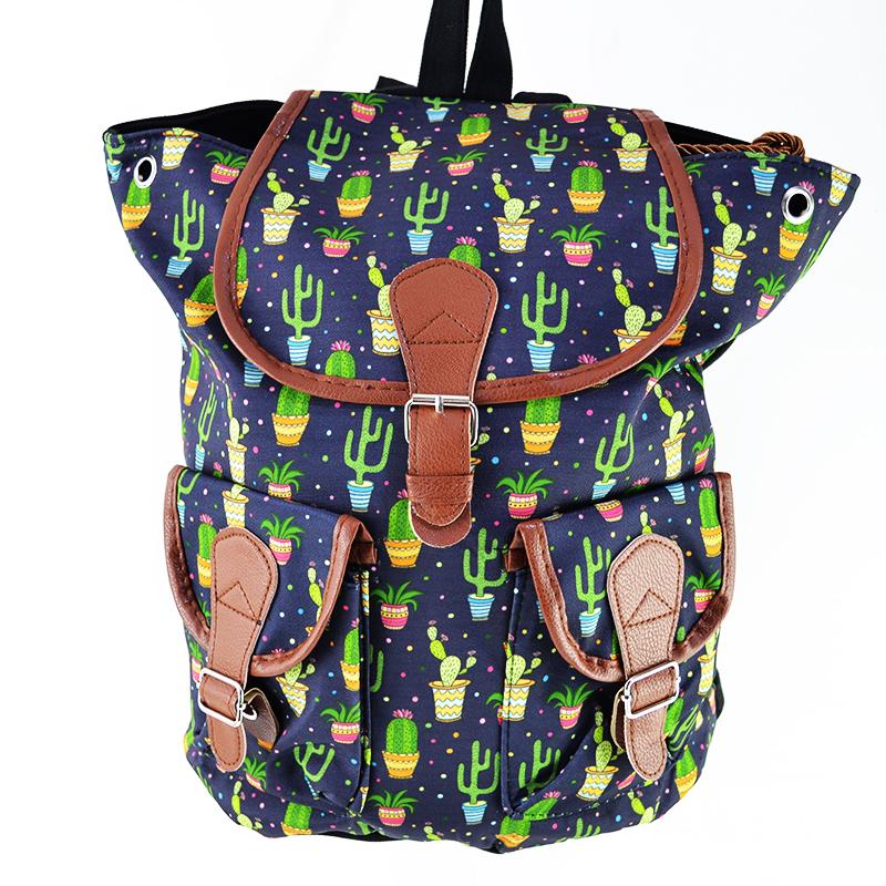 Дамска чанта с кожени елементи TEQUILA 4138