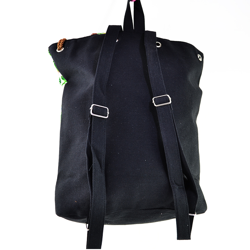Дамска чанта с кожени елементи FLAMINGO LEAF 4138