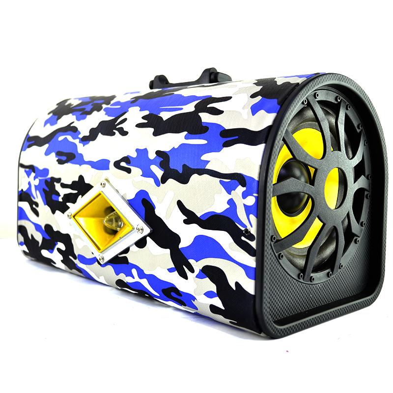 Активна HiFi Туба Бас Каса 2 x 6 inch, 2x55W RMS