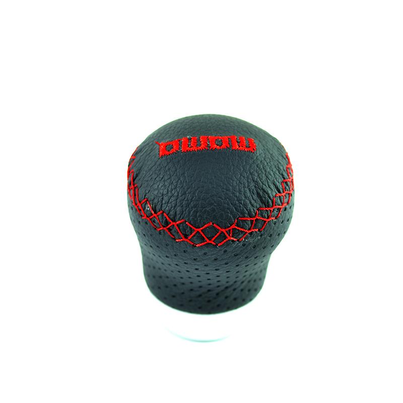 Кожена топка за скоростен лост MOMO