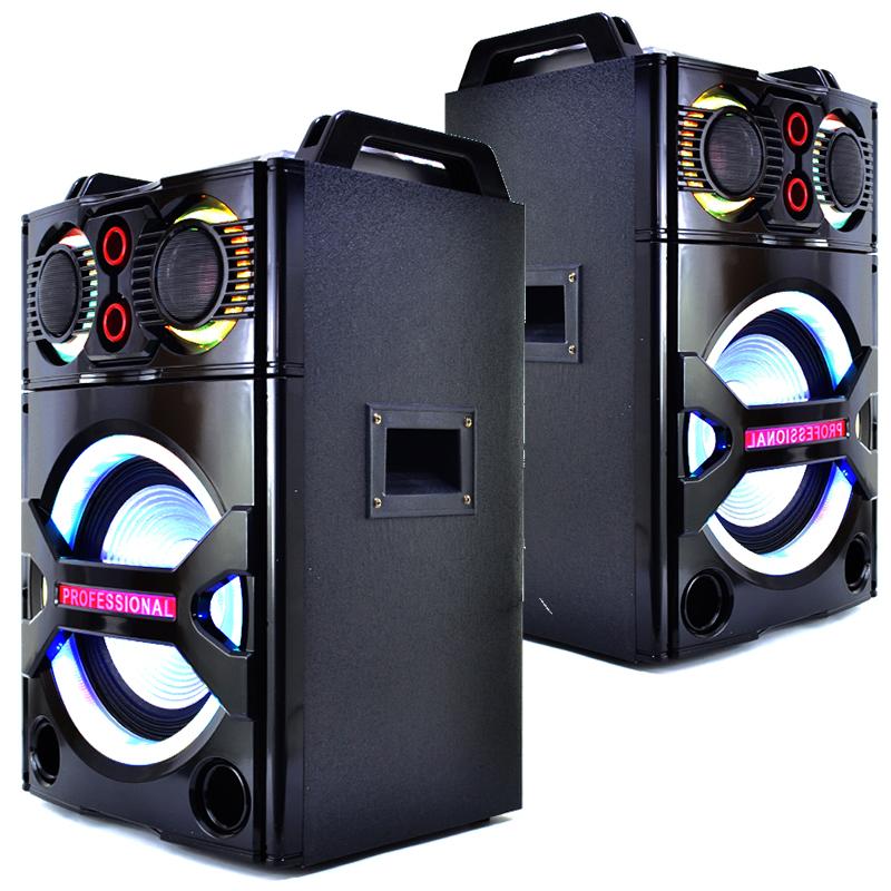 Мощна DJ стереоуредба PARTY STARTER MBA RF-2210,  2х300W, караоке