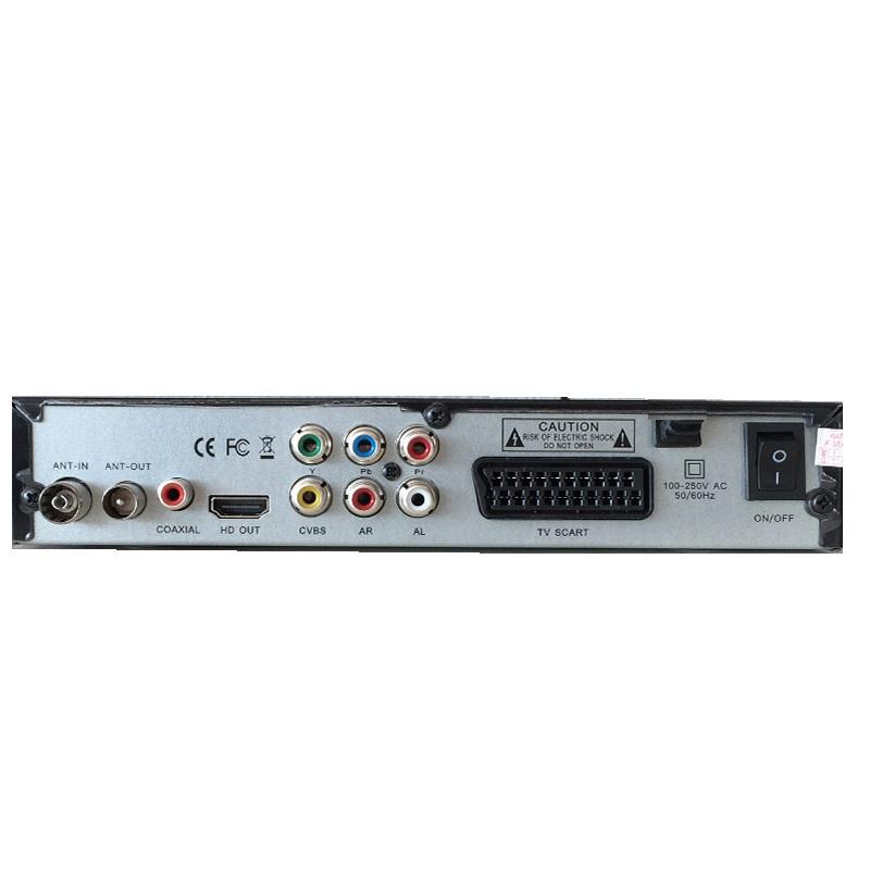 Ефирен цифров приемник  DVB T2 с всички екстри и SCART,  вкл. и сръбски програми