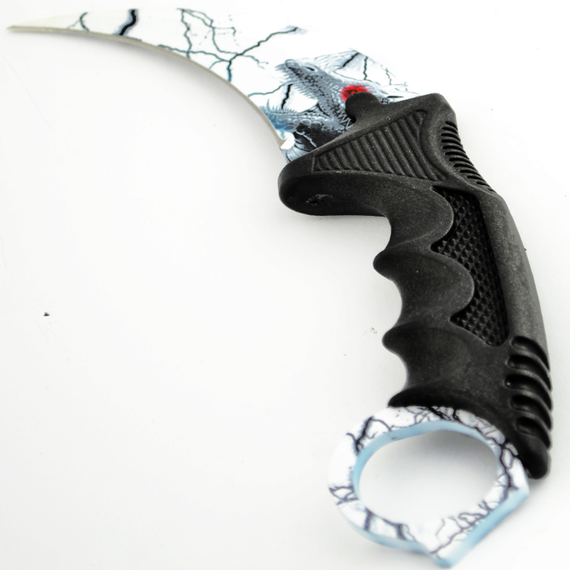 Уникален нож KARAMBIT DRAGON STEAL X-8
