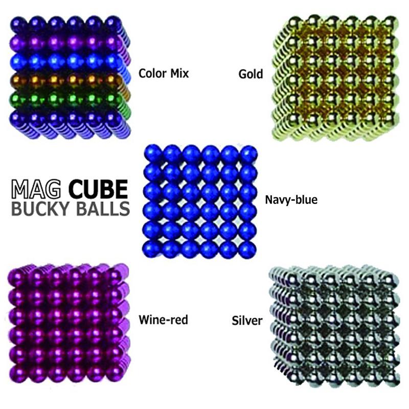 Магнитни топчета MAGCUBE, 3D магнитен пъзел с 200 броя топчета