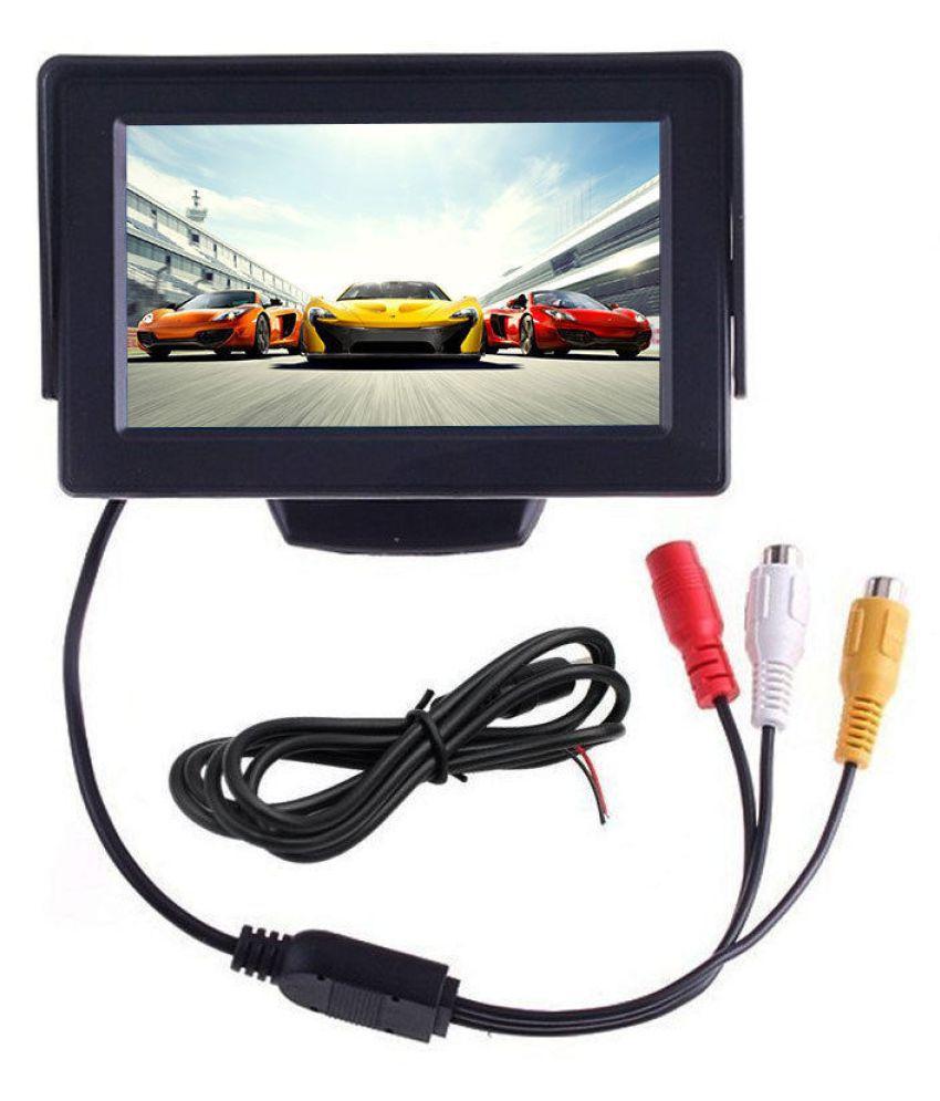 Комплект мини камера за задно виждане + TFT LCD 4.3 инчов моитор