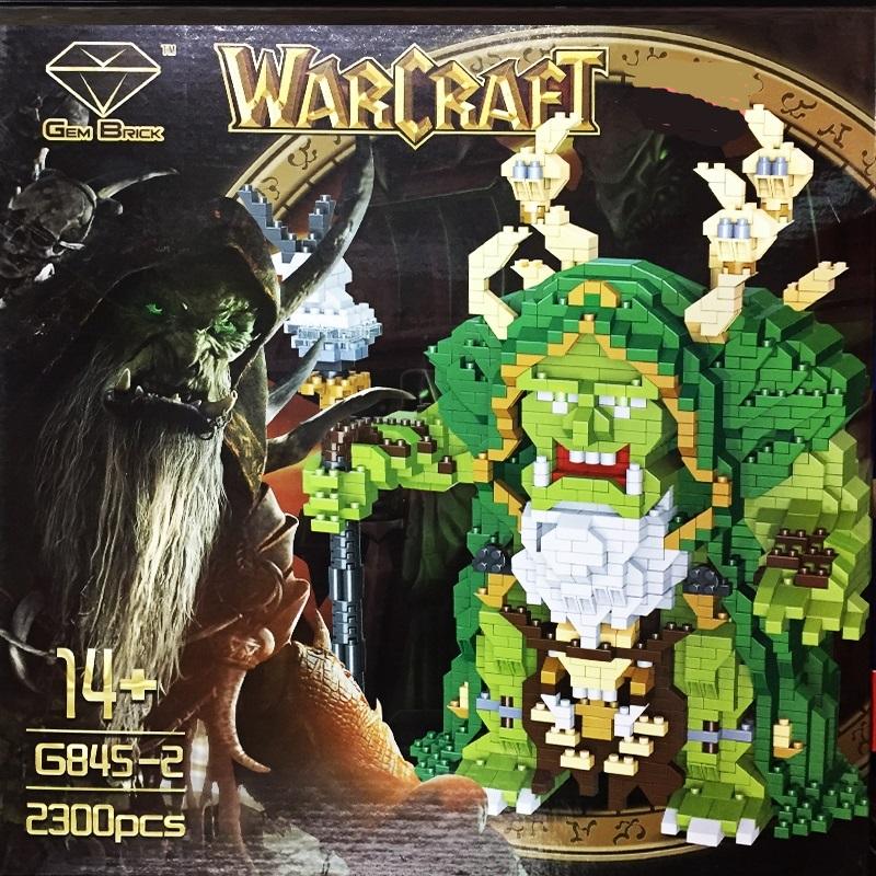Огромен WARCRAFT конструктор 845 в 2300 части, 14+
