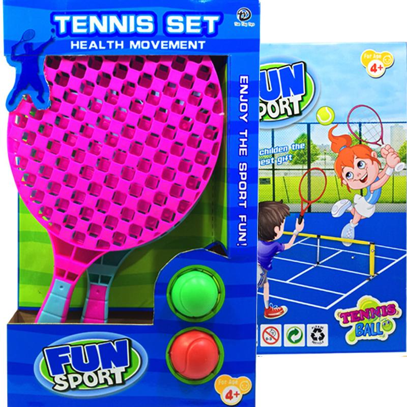 Детски тенис сет от 2 ракети и две топчета HEALTH MOVEMENT