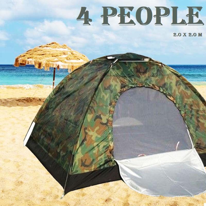 Компактна палатка MILITARY LINE за живот на открито