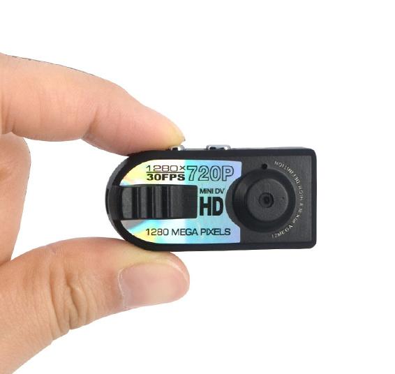 HD Q5 микро камерa с резолюция 1280 x 720 p.
