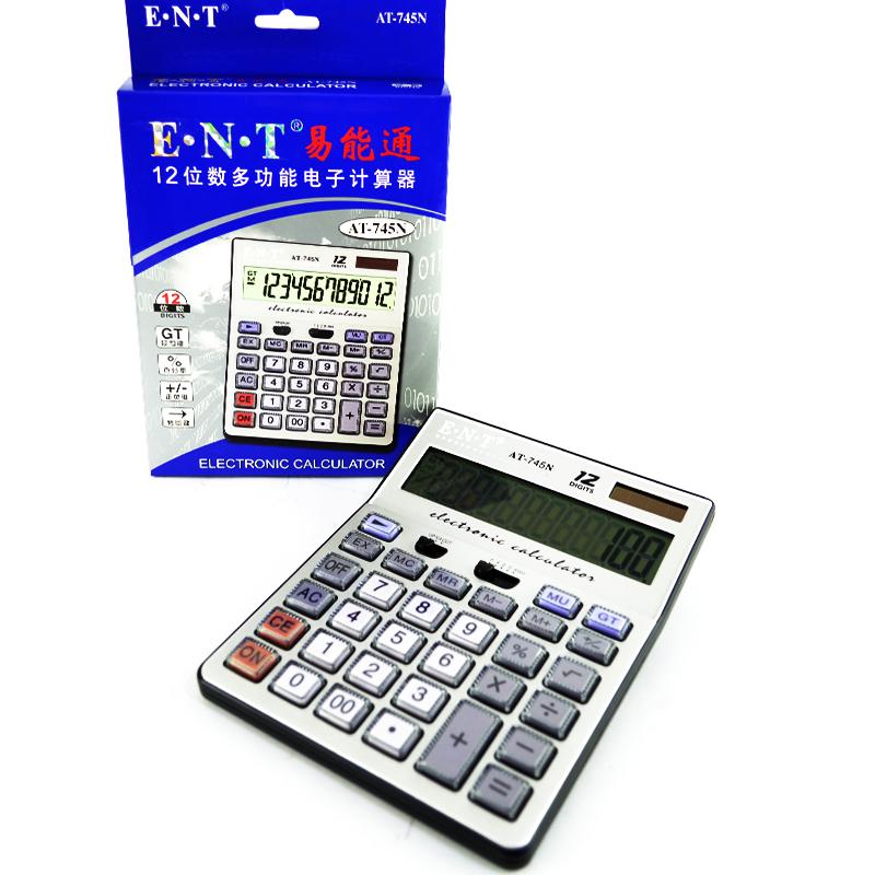 12 разряден,голям, електронен калкулатор АТ-745N