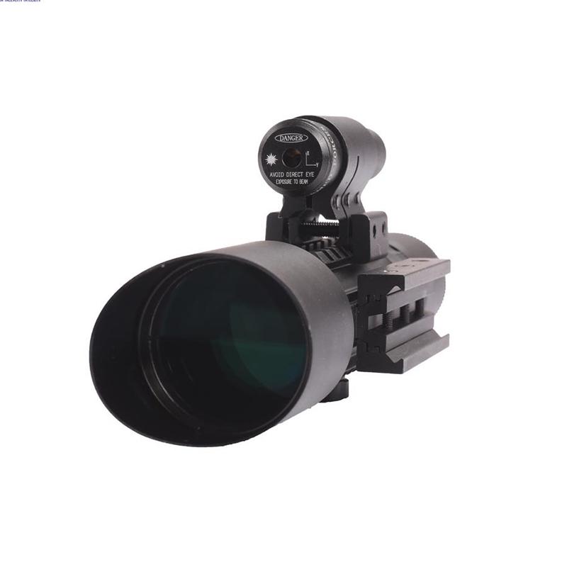 Далекобоен оптичен мерник с лазерно насочвне  ACCURATE M9 3 - 10 X 42