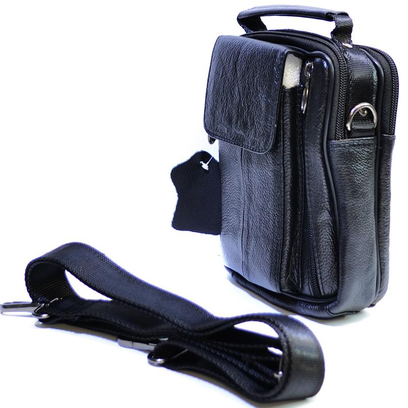 Мъжка чанта REAR 5006, естествена кожа