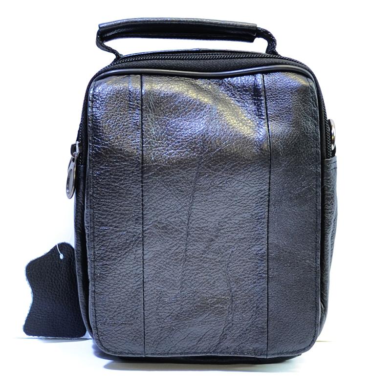 УНИКАЛЕН НОВ МОДЕЛ 2018: Мъжка чанта DARK VISION 5008, естествена кожа