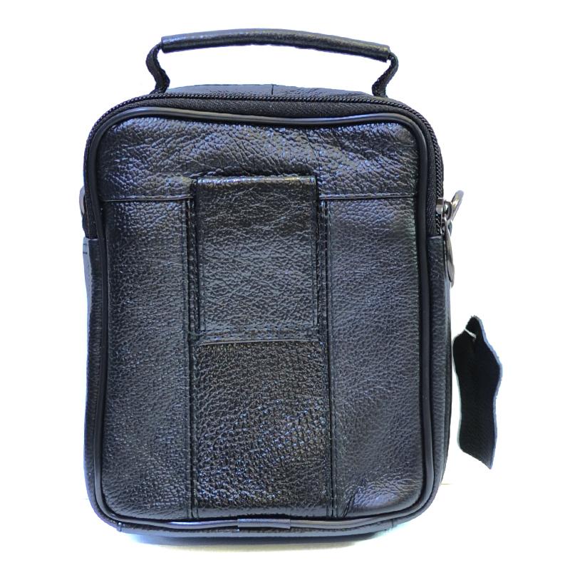 УНИКАЛЕН НОВ МОДЕЛ 2018: Мъжка чанта BLACK BOARD  5010, естествена кожа