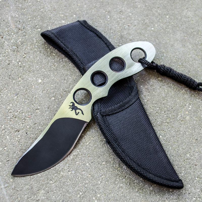 Изцяло метален тактически нож MANTIS DEER B01, ловен нож