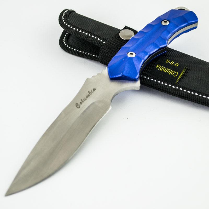 Изцяло метален ловен нож COLUMBIA USA K-603 BLUE STAR