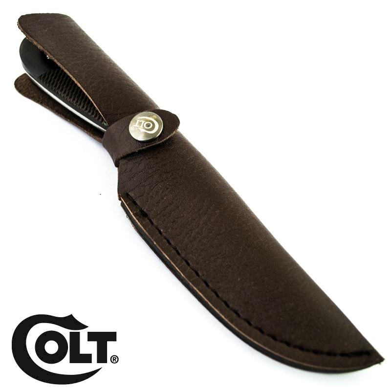 Висок клас ловен нож COLT COMPACT 1836, кожена кания- ест. гьон
