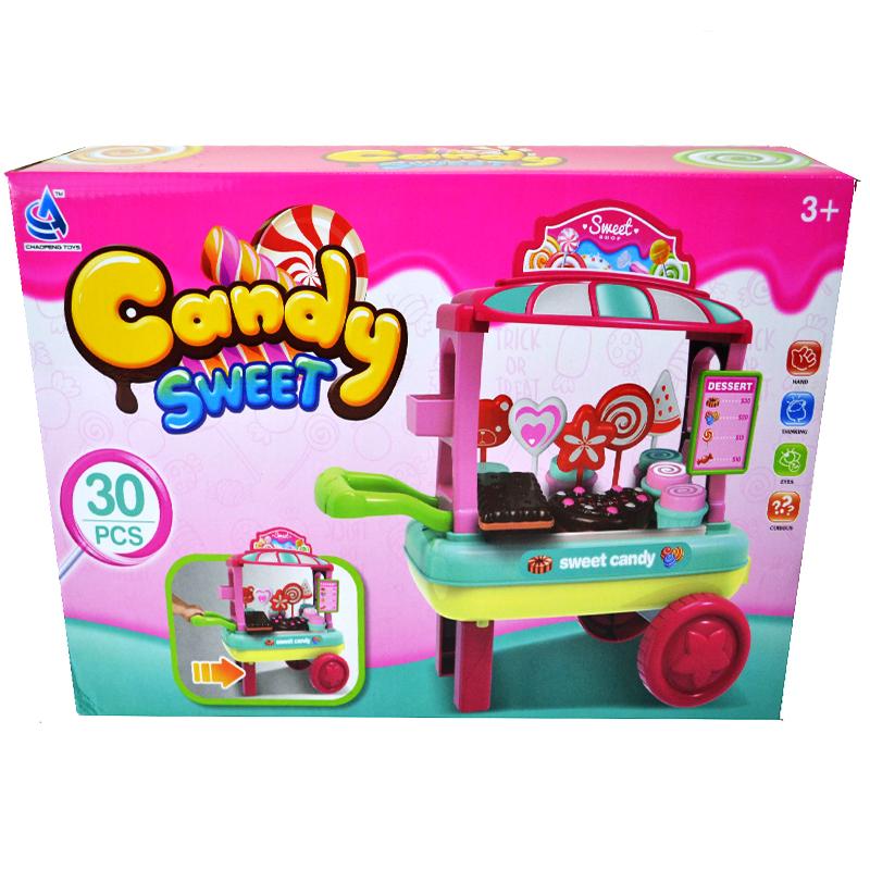 Комплект количка с вкусотийки CANDY SWEET