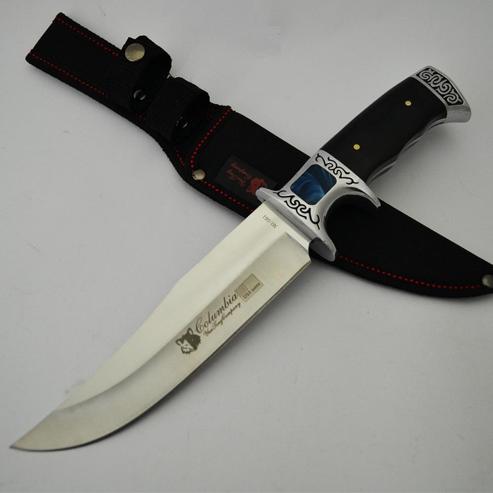 Огромен ловен нож Columbia G61 Orient, с инкрустации и калъф