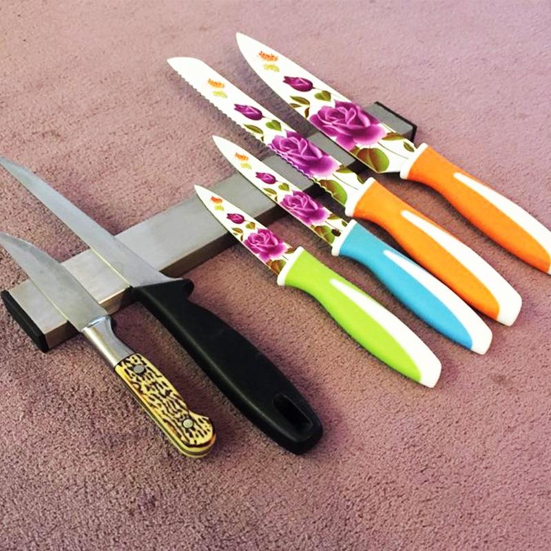 Висок клас иноксова магнитна поставка за ножове и остриета KAW 5.0 - 50.5 см