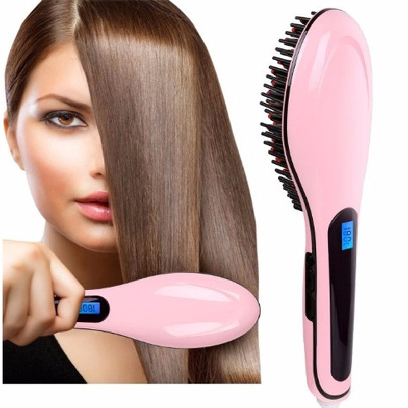 Четка за бързо изсушаване и изправяне на коса HQT-906 FAST HAIR STRAIGHTENER XPRESS