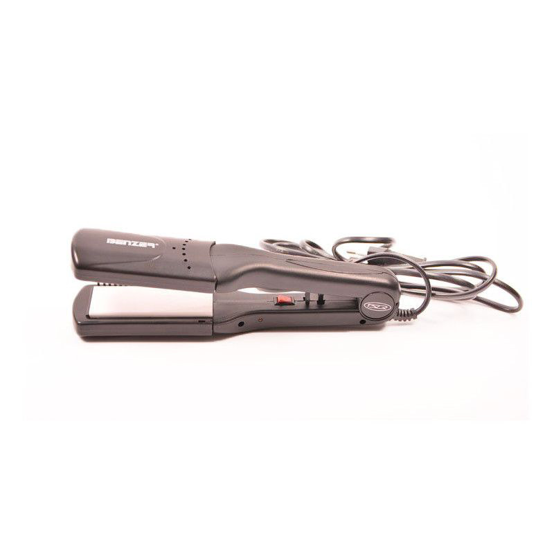 Лека и мощна преса за коса Benzer BR-1701-HCR,  с 4 броя керамични приставки