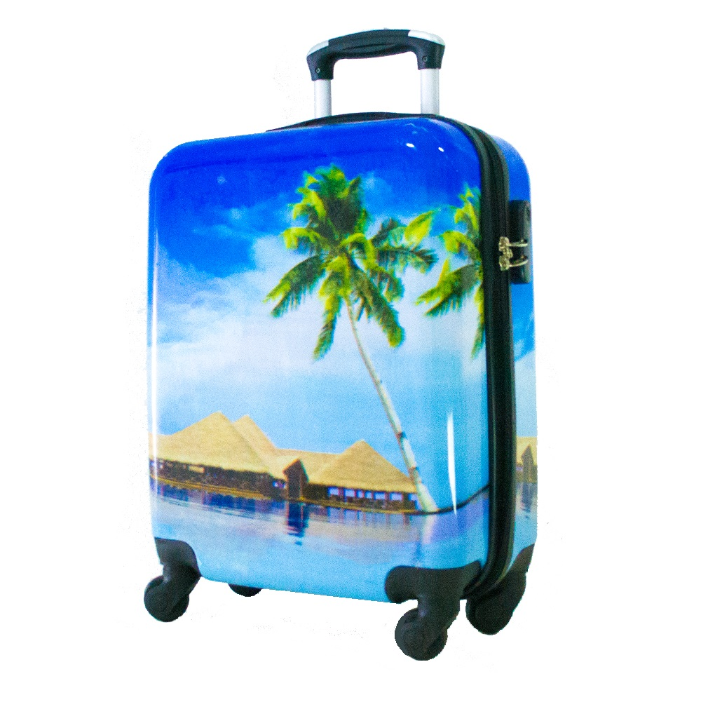 Най-висок клас поликарбонов авио куфар-спинър за ръчен багаж HANDLE TRAVELLER 910-5